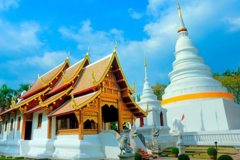 チェンマイで最も格式の高い寺院 ワット・プラ・シン(外観)