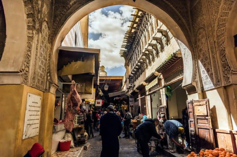 世界一の迷宮都市フェズ