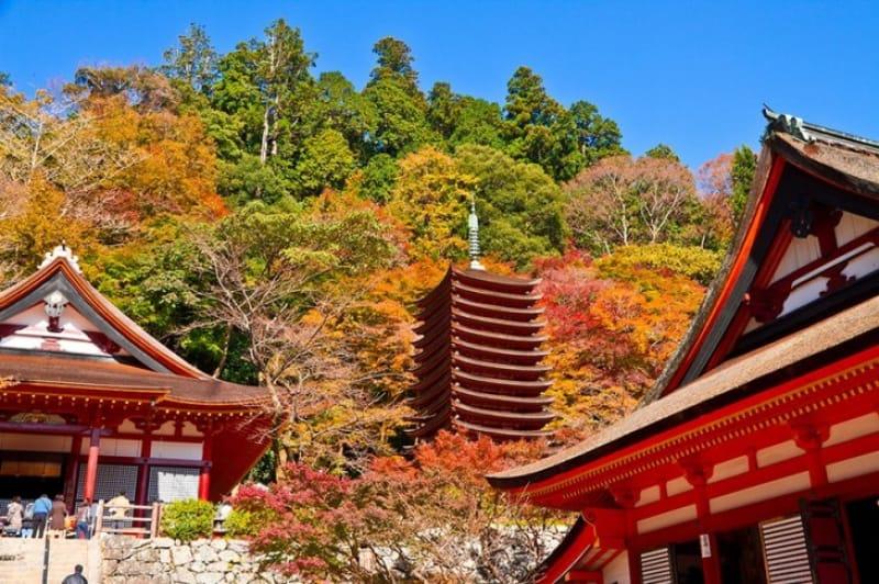 関西の日光として親しまれる・談山神社