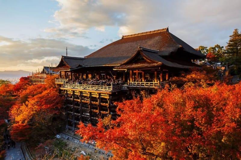 京都を代表する世界遺産・清水寺