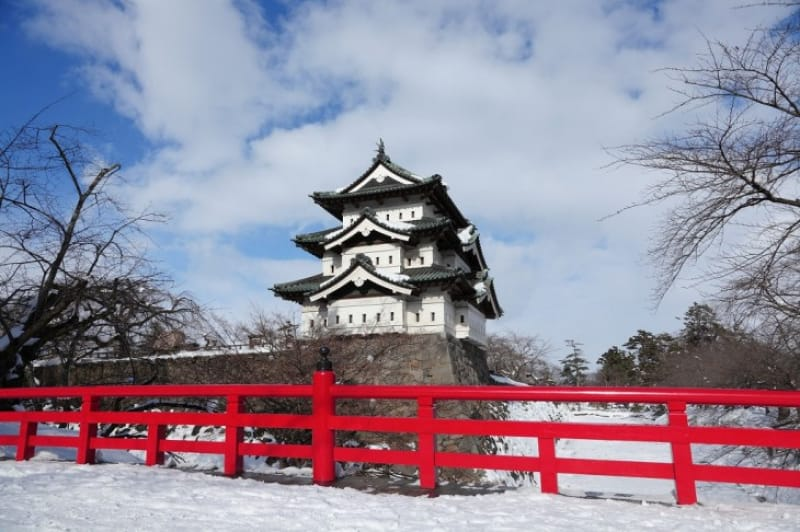 弘前城が築城と津軽藩