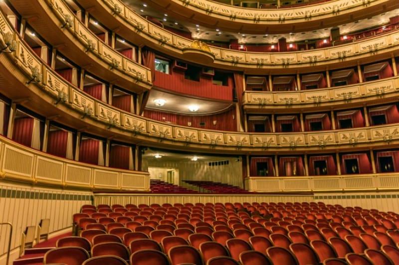 音楽の都市ウィーンならではの、国立劇場