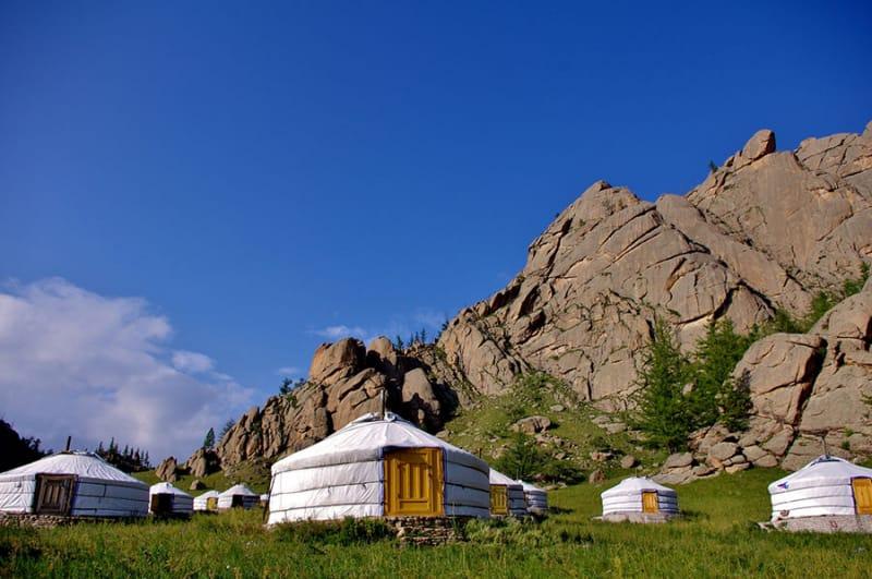 モンゴルには多くの絶景が!