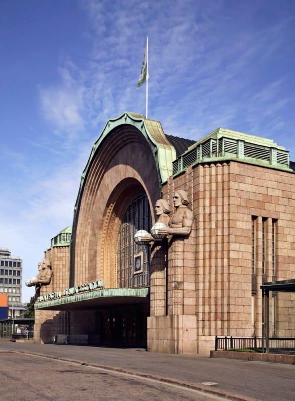 ヘルシンキの玄関口 ヘルシンキ中央駅