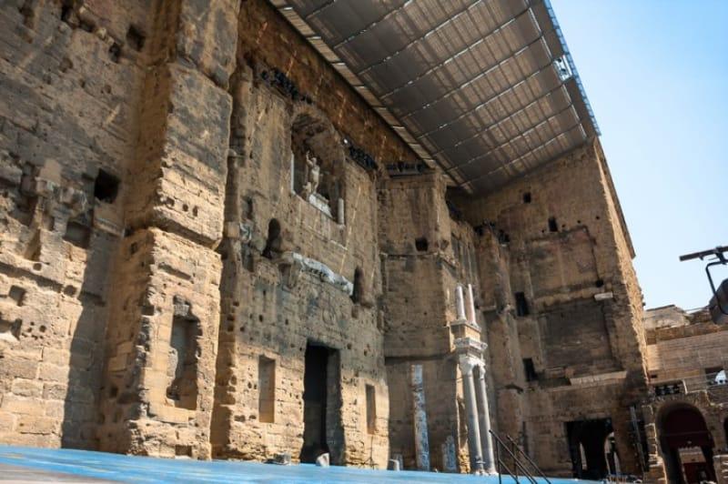 ローマ帝国時代に栄えた街「オランジュ」