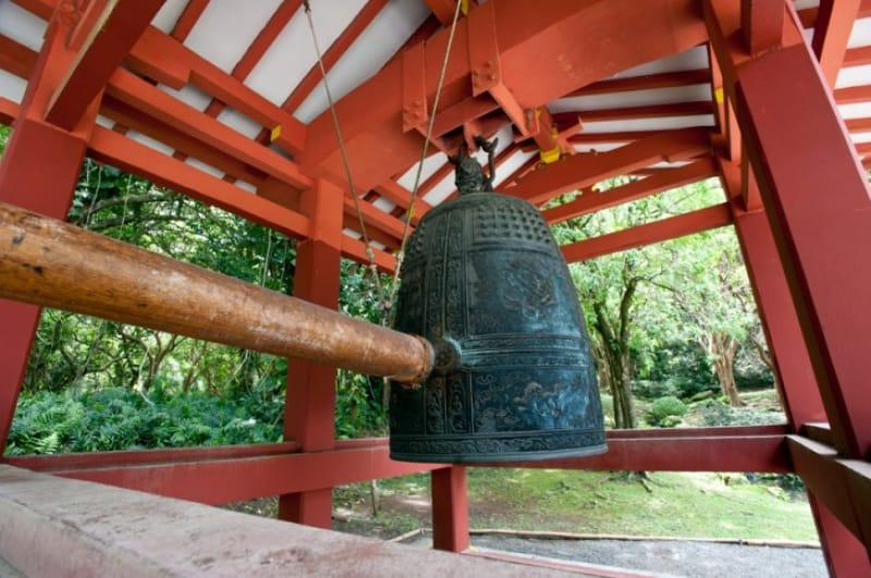 日本3大梵鐘にあげられる鐘楼