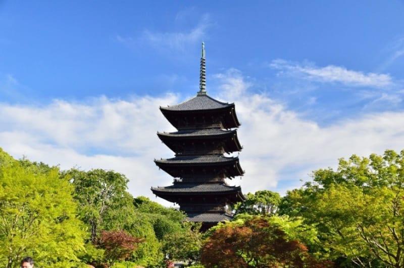 2-1.京都のシンボル的存在、「五重塔」