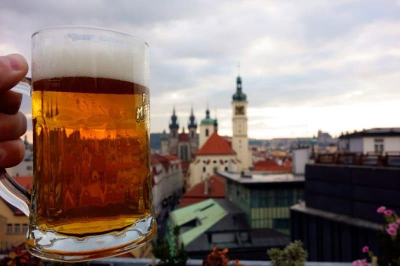世界有数のビール大国チェコのプラハでビールを楽しむ!