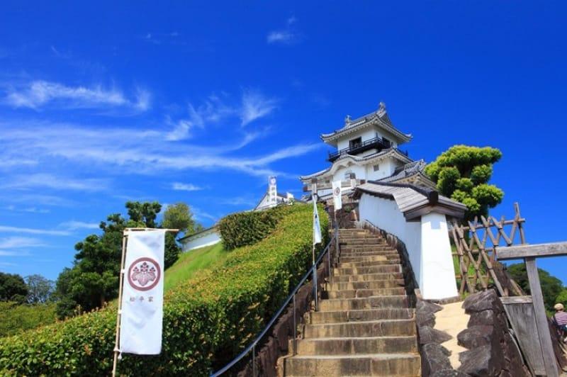 その後の掛川城、天守の復興
