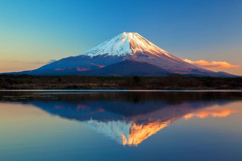 10位 山梨県・静岡県/富士山-信仰の対象と芸術の源泉
