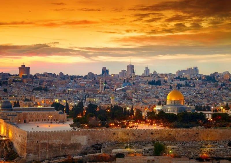 エルサレムは3つの宗教の聖地なので