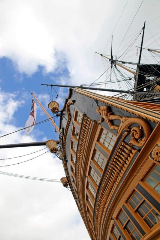 英国海軍の歴史を語るポーツマス・ヒストリック・ドックヤード