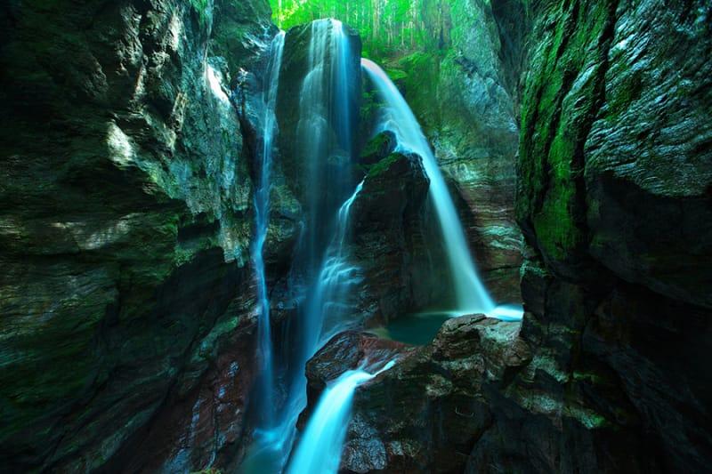 冒険心をくすぐる! 中津渓谷