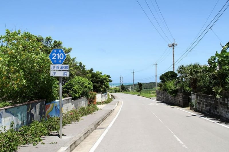 小浜島には信号がないんです?!