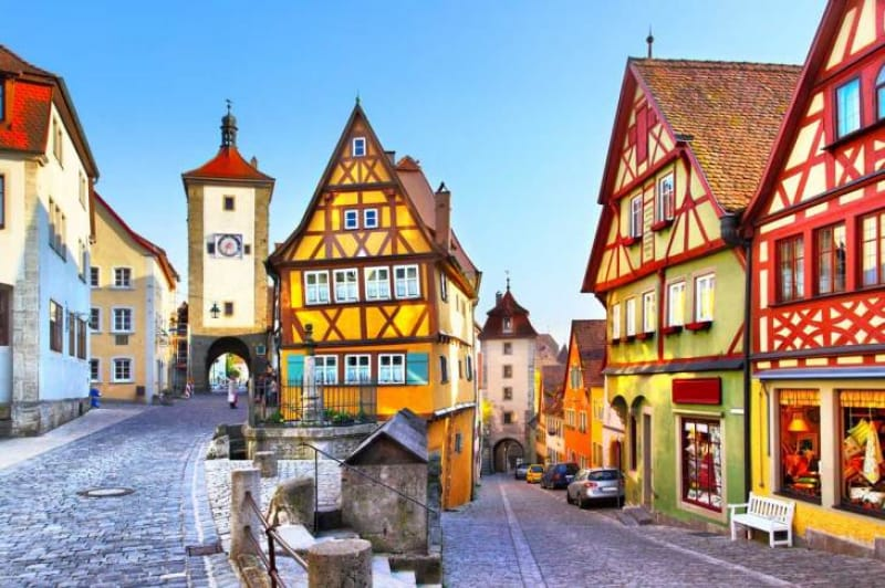 ローテンブルグ(Rothenburg)/ドイツ