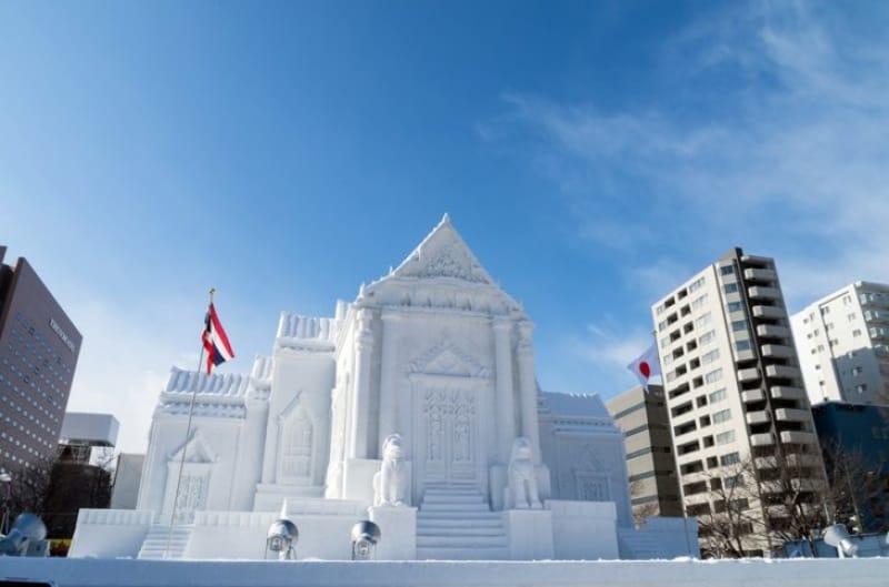 世界から観光客の集まる「雪まつり」