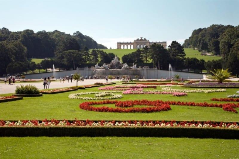 世界遺産シェーンブルン宮殿