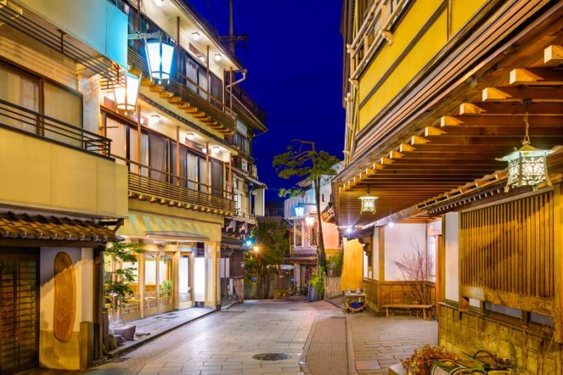 日本屈指の美肌の湯・玉造温泉