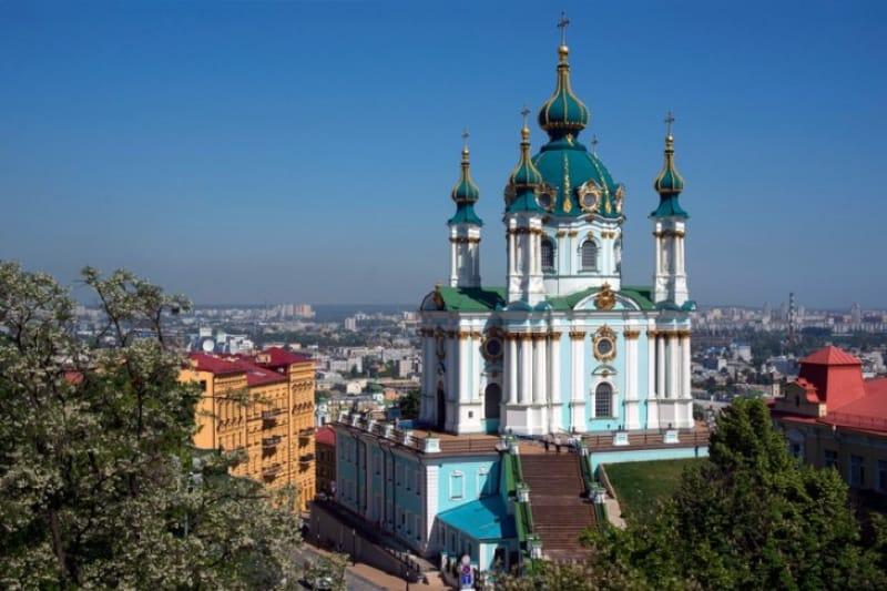 ウクライナ・キリスト教伝来を称えた教会
