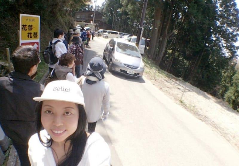 96329:中千本から奥千本までバスに乗ってみた