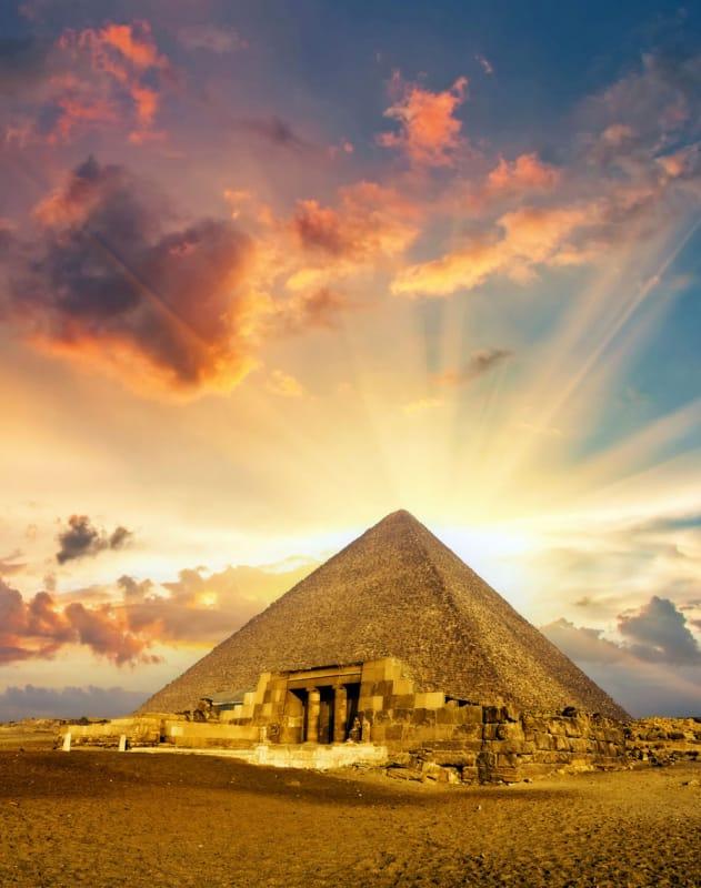 19位 エジプト/メンフィスとその墓地遺跡-ギーザからダハシュールまでのピラミッド地帯