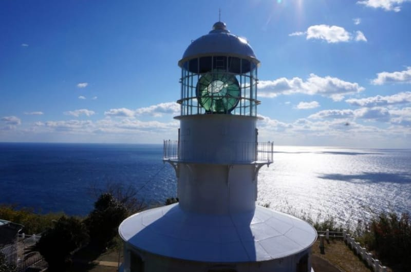 100144:大自然の中に佇む室戸岬灯台へ到着!