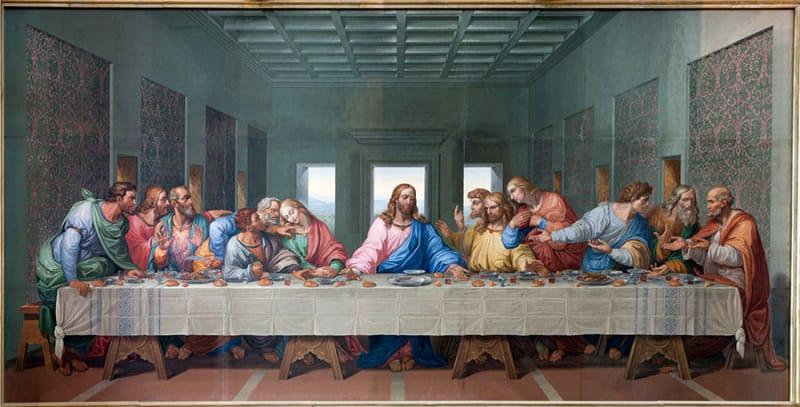 「最後の晩餐」に描かれた世界