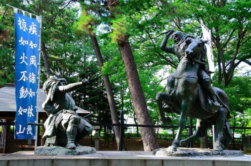 The 川中島の戦い!と海津城