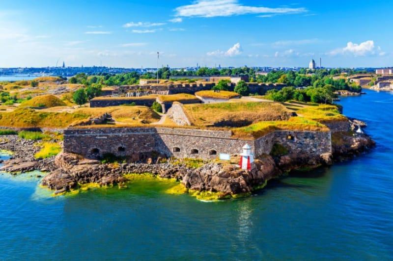 かつての要塞 スオメンリンナ