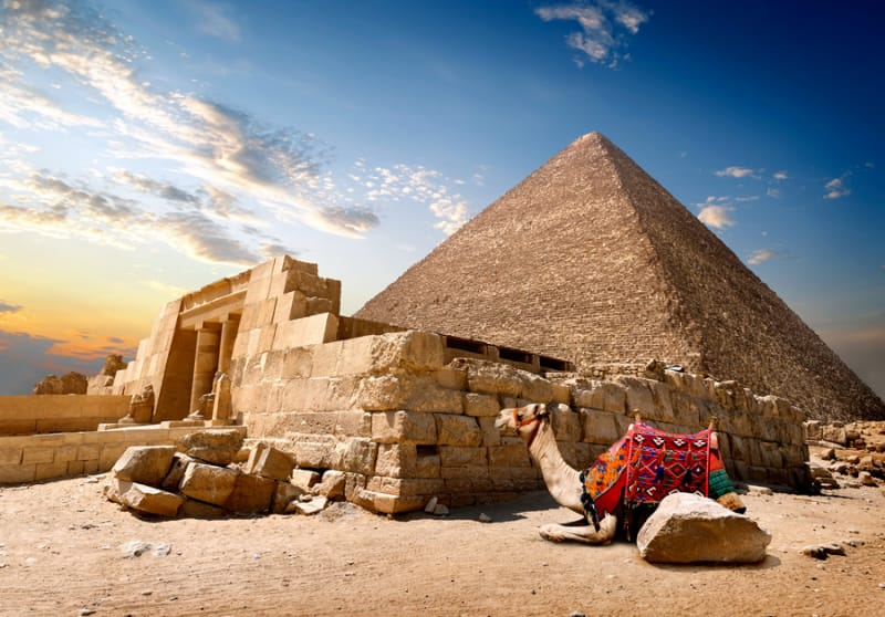 ここは絶対おさえておきたい!クフ王のピラミッド