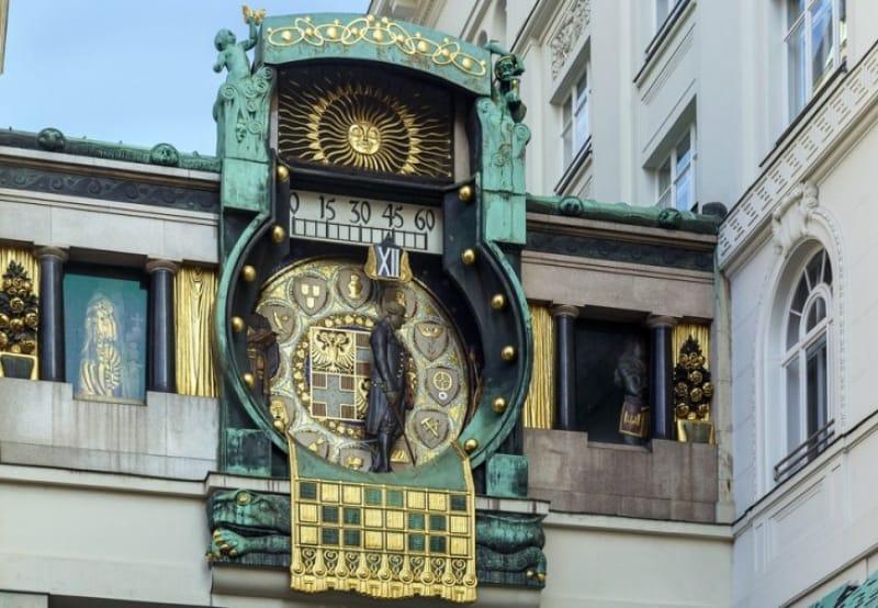 華麗な仕掛け時計 アンカー時計