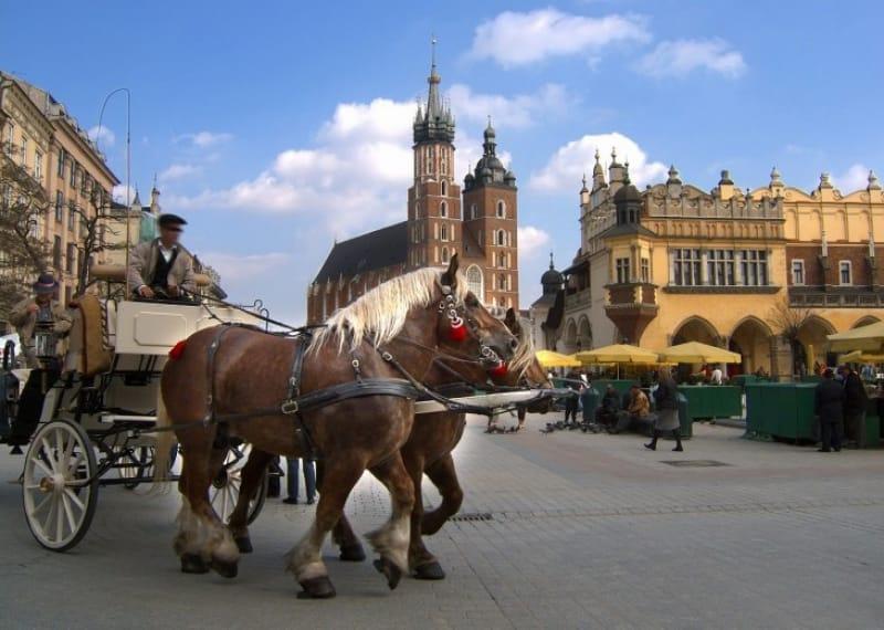 中世をそのまま残すポーランド王国の都!クラクフ歴史地区