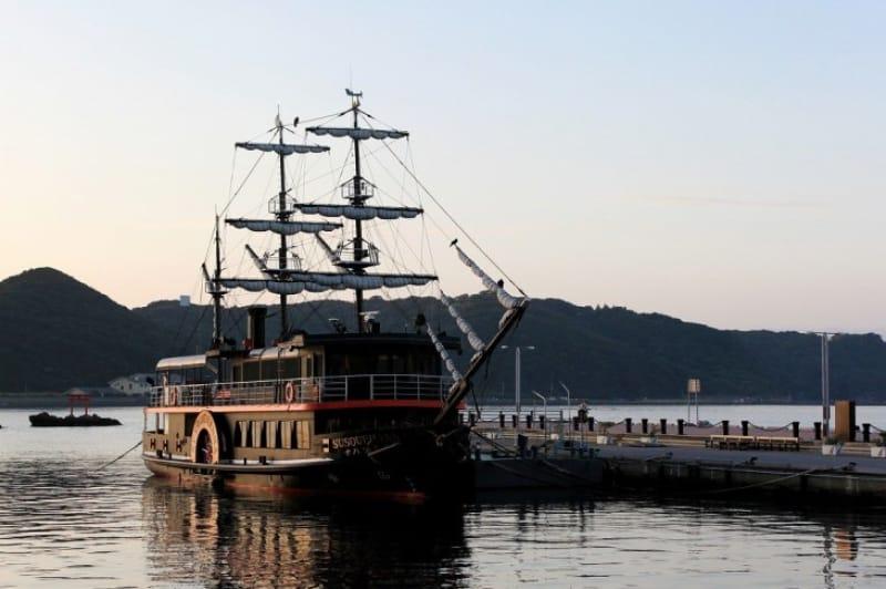 巨大艦隊・黒船が一度目の来航