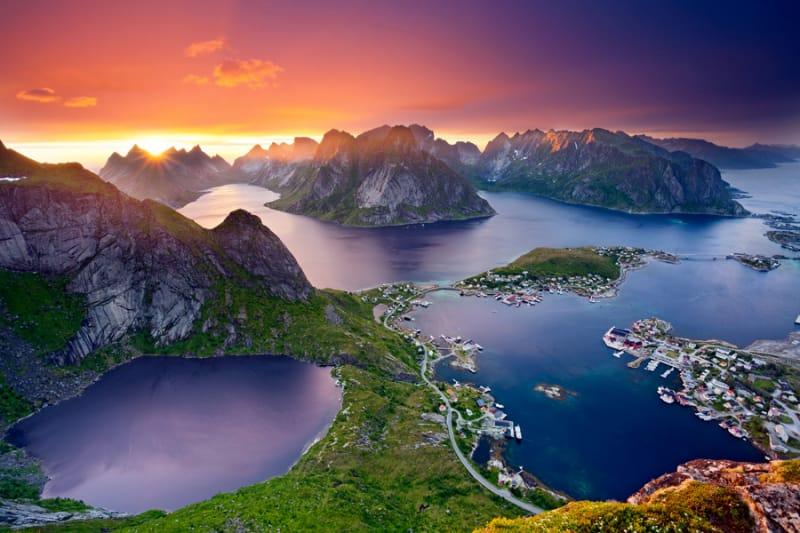 ノルウェーでも最も美しい場所『ロフォーテン諸島』