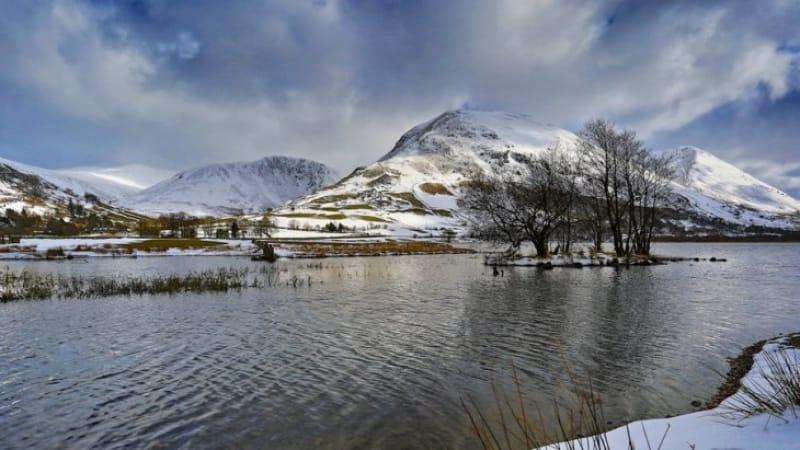 冬にしか見ることのできない絶景を求めて湖水地方へ