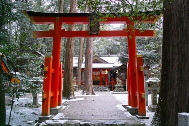 猿田彦神を祀る神社の総本社「椿大神社」