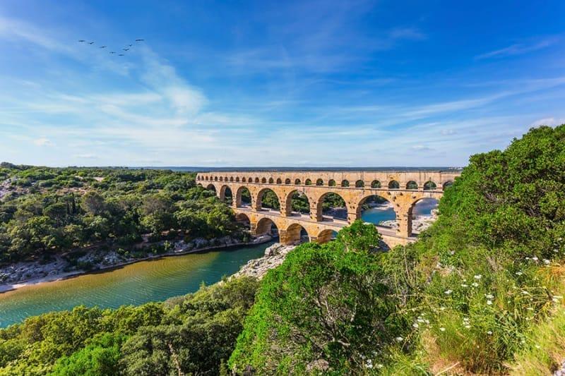ポン・デュ・ガール(ローマの水道橋)ってこんなところ