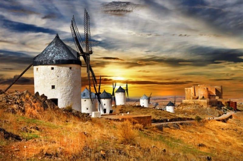 ドンキホーテとラマンチャの風車