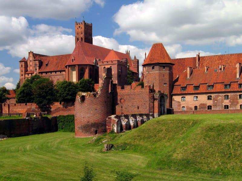 巨大な城 マルボルクのドイツ騎士団の城
