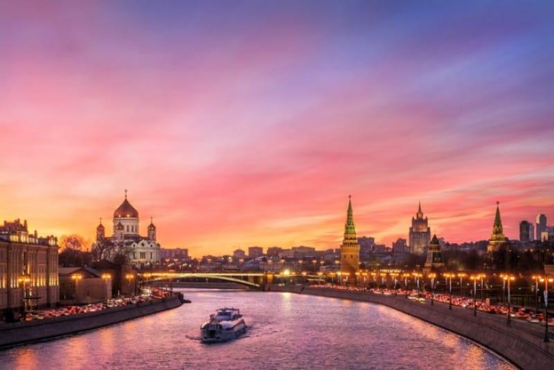 モスクワの起源は石器時代から
