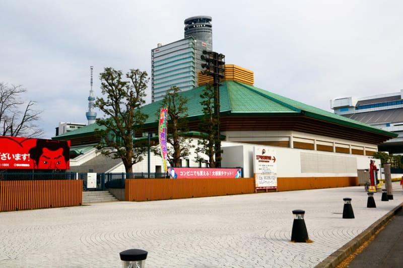 相撲の聖地・両国国技館
