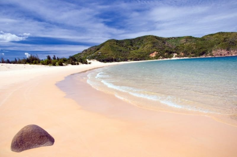 美しいサンセットが望めるロングビーチ(チューンビーチ)