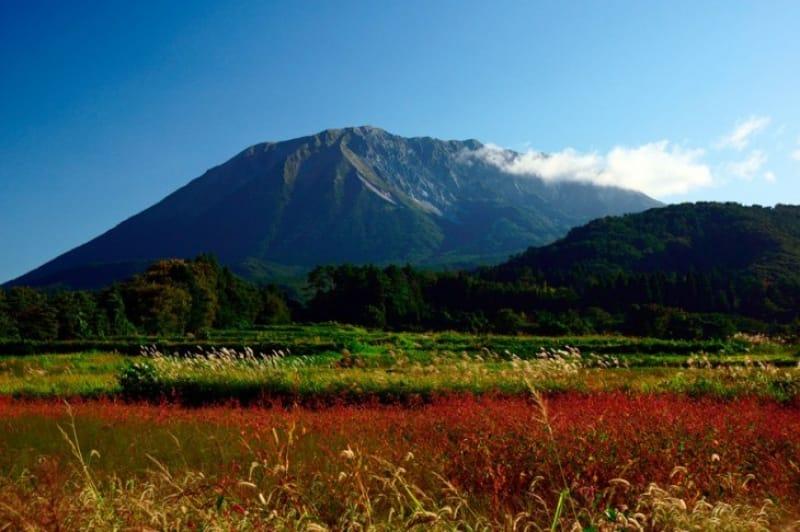 日本百景としての大山!