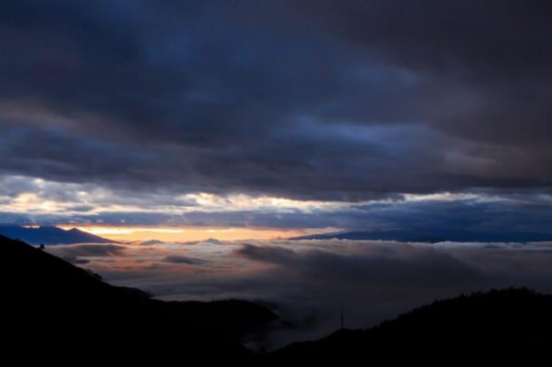 高ボッチからの雲海は?