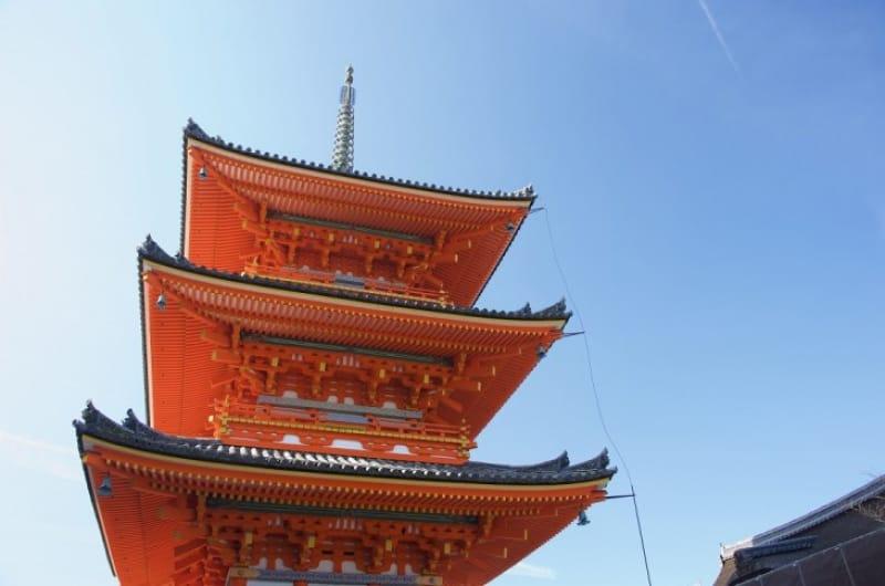 (4)日本最大級の「三重塔」