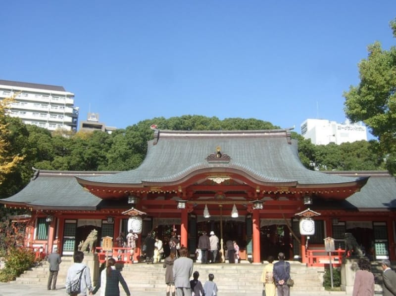 生田神社は七五三やお宮参りにも