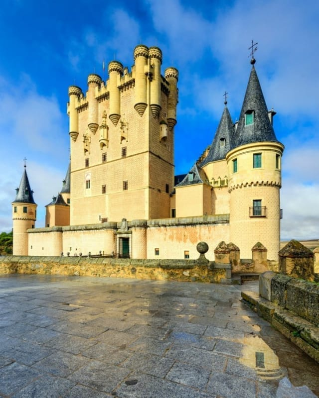 白雪姫のお城のモデルとなったアルカサル