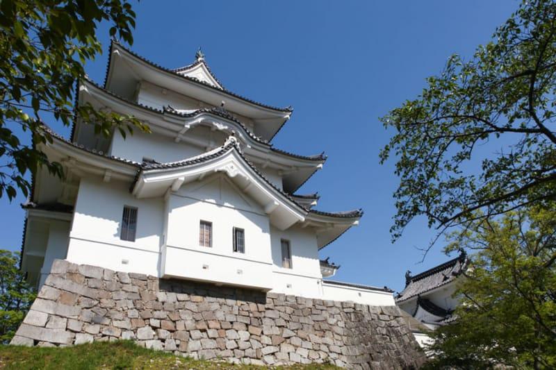 鳳凰のような美しさ・伊賀上野城