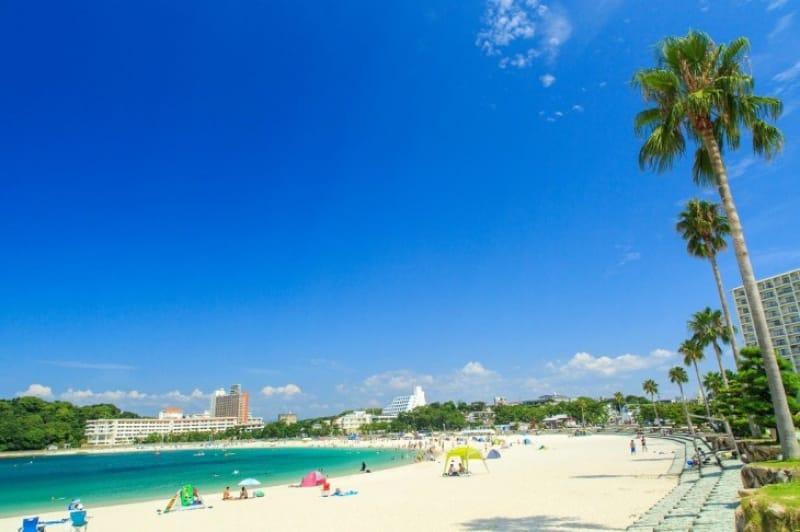 白良浜はハワイのワイキキビーチと友好姉妹浜関係にあります