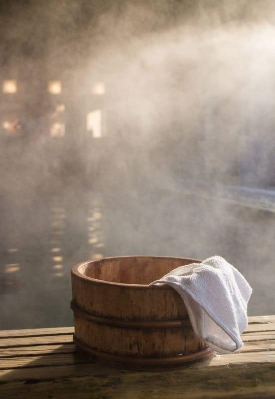疲れた体を癒す、温泉宿